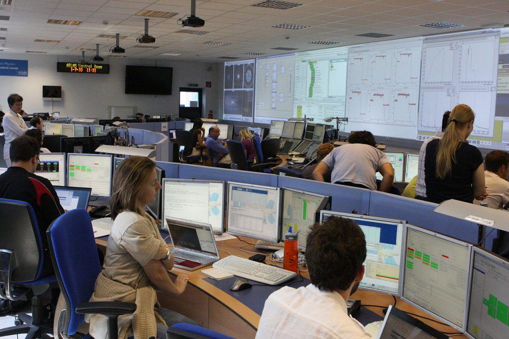 CERN ATLAS Control Room