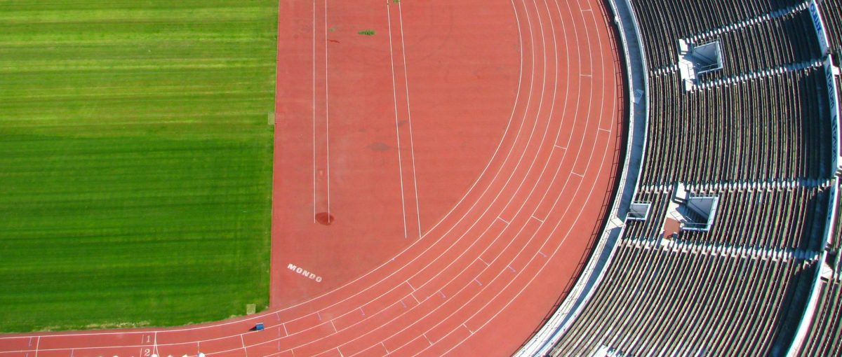 Length of Outer Running Track Lanes