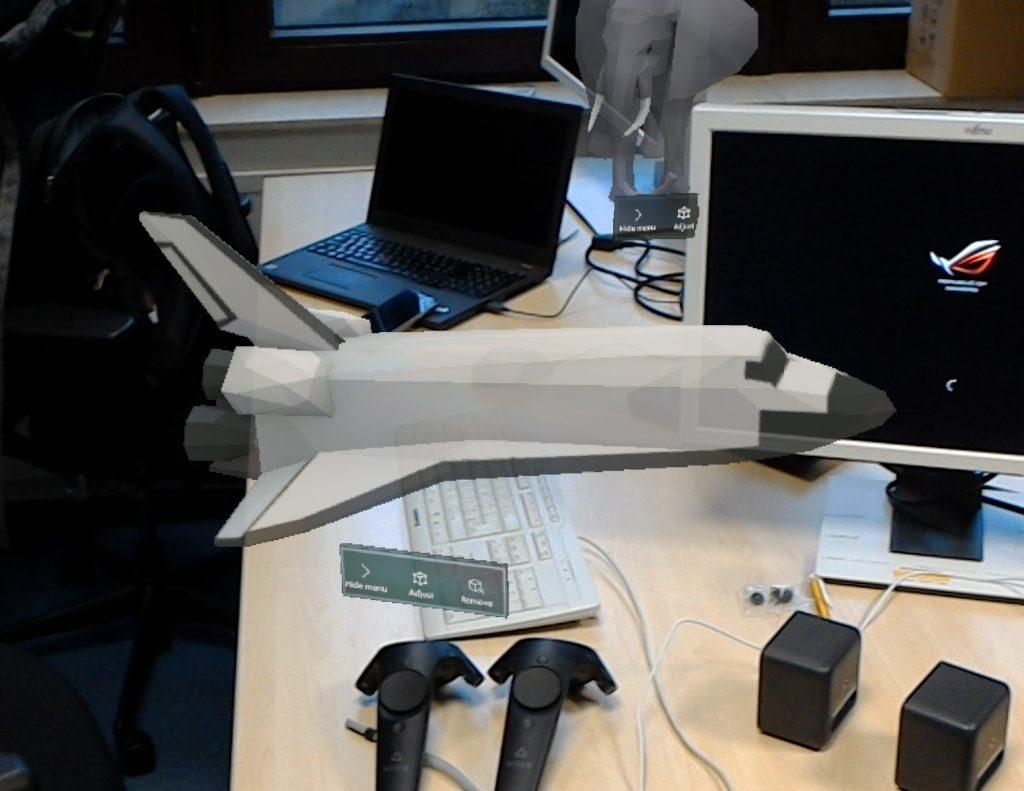 HoloLens Space Shuttle 1