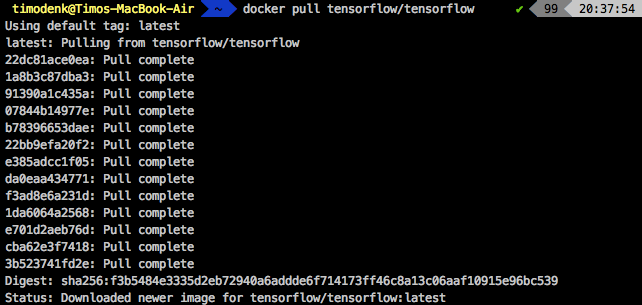 Connecting PyCharm to a TensorFlow Docker Container – Timo